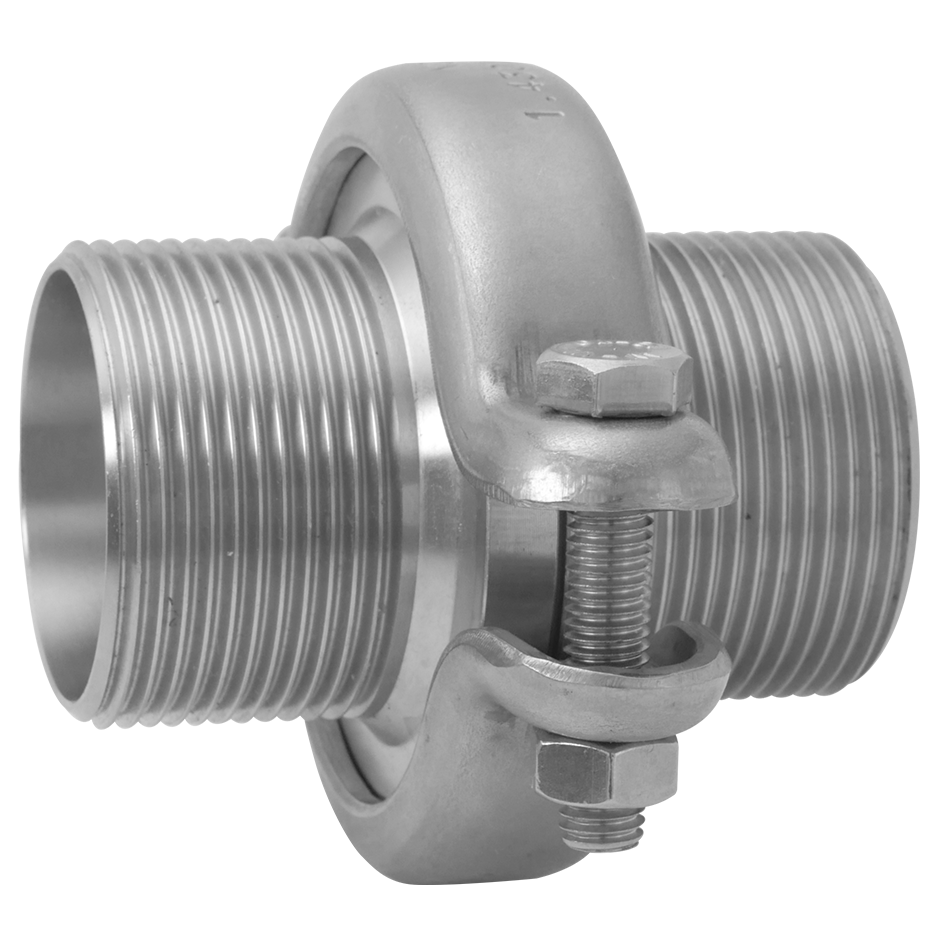 Union-L with thread connection, O-ring